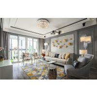 沈阳华庭装饰115平工业风格装修设计效果图