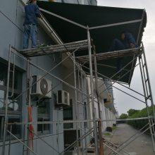 浦东泥城遮阳蓬定做 上海浦东泥城雨棚设计 上海浦东泥城雨蓬设计厂家