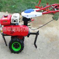 小型手推耕田机 汽油柴油动力旋耕机 微耕锄草机