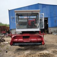 多功能玉米茎穗兼收收割机 全自动自卸式秸秆青储机