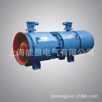 FBD-2*11KW矿用压入式对旋轴流局部通风机 上海能垦防爆矿用风机