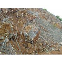 专业厂家贵州四川云南高强度钢丝绳包山主动边坡防护网石头防落网