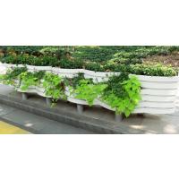 厂家定做户外PVC花箱市政花箱护栏 广场花盆花槽公园木质市政工程园林景观项目种植箱