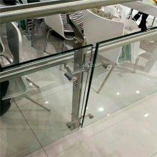 新云 商场楼梯防护栏 来图定制楼梯扶手栏杆 不锈钢立柱 工程立柱3067
