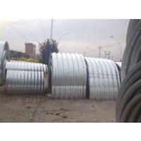 甘肃直径1.5米整装钢波纹涵管施工 镀锌波纹管涵价格 钢板材质排水管