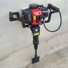 手持式汽油起树机 富兴苗圃专用汽油挖树机 厂家直销冲击铲式起树机