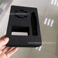 低价供应包装盒海绵内衬一体成型冲粘海绵内托