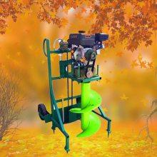 曲靖市果园栽树挖坑机 启航牌单人操作农田施肥打眼机 大棚埋桩钻洞机生产厂家