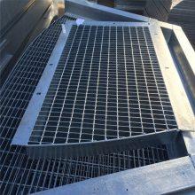 电厂钢格栅板价格 防滑格栅板厂家 陕西水沟盖板