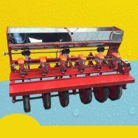 小麦谷子高粱播种机 富兴六行多功能高粱玉米小麦谷子精播机 12行多功能播种机价格