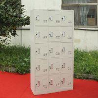 15门钢制更衣柜鞋包储物柜 洗浴中心存包柜厂家直销