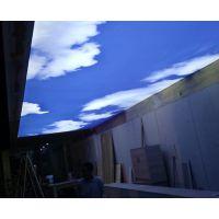 厂家定制软膜天花柔性天花膜灯膜喷绘膜精印膜写真膜UV膜白膜吊顶