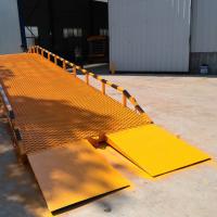 四川现货供应载重6t 移动液压登车桥 集装箱装卸平台 升降机厂家济南洲洋升降机械