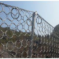成都山体边坡防护网厂家 落石钢丝绳网 品质保证 价格低