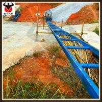 猛士工程用爬山虎上料机 斜坡上料机 建筑工地提升架