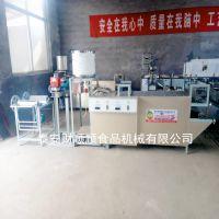 吉林新式豆腐皮机多少钱一套 小型豆腐皮生产设备