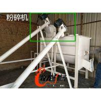 家畜饲料粉碎混合机 家禽养殖专用粉碎搅拌机 中小型齐全电启动牧龙 宜春