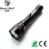 供应厂家批发 led车载手电筒 户外照明防身强光手电筒