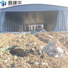 杭州淳安县移动雨蓬 雨棚布材料 伸缩遮阳帐篷制作安装