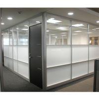 南阳办公室成品玻璃隔断,成品玻璃隔断安装厂家