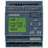 西门子6ED10521FB000BA6LOGO! 230RC,主机,集成显示面板. 电源/输入/输出