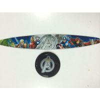 东莞热转印印刷加工 塑胶耳机壳彩色LOGO印刷