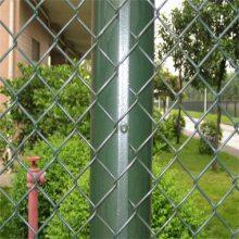 热镀锌勾花网护栏 组装护栏安装 动物园围栏