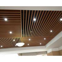 供应德普龙品牌外墙立柱氟碳处理装饰条形铝方通