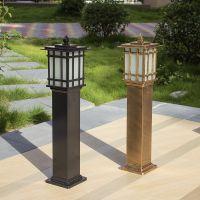 直销压铸铝草坪灯 复古户外灯具 花园灯 大西洋庭院灯