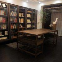 达州禅意新中式会所家具定做 达州仿古茶楼、禅意茶艺馆家具