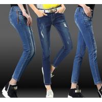 3-5元低价流行牛仔背带裤短裤批发黑龙江鹤岗哪里有便宜优质杂款杂码大码女式背