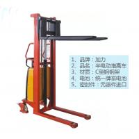沈阳加力品牌半电动堆高车_优质钢材半电动堆高机
