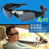 工厂直销 蓝牙眼镜 宝丽莱偏光太阳镜片 无线电话智能眼镜