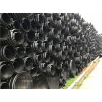 湖南钢带缠绕管大口径污水管PE钢带增强聚乙烯螺旋波纹管厂SN