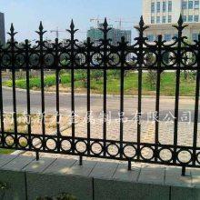 欧式铸铁护栏 小区铁艺围墙 别墅户外铁艺防护栏 来图定制 河南新力
