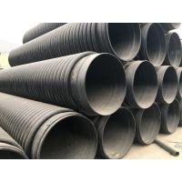 力和厂家批发克拉管 200到2400大口径市政排污管 HDPE缠绕结构壁B型管