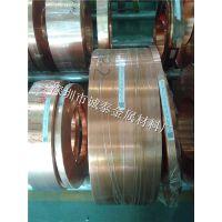 广州电缆紫铜带供应 C1100红铜卷料镀锡 镀镍加工