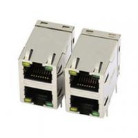 供应YDS品牌2X1百兆RJ45连接器71F-1201GYD2NL网口插座