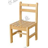 贝尔康 实木条形椅 学生椅 幼儿木椅