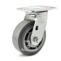 大世脚轮 超级静音TPR脚轮 灰色导电tpr轱辘 性价比高
