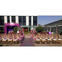 北京供应婚庆桌椅 展会活动桌椅租赁 布置摆放
