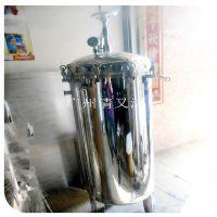 邓州市热销袋式精密过滤器广旗不锈钢前置3号袋网井水自来水食用油酒漆