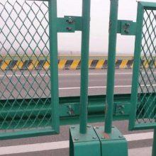供应高速公路防眩网 菱形防护网 优质钢板网护栏 可定做