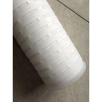 厂家供应多折叠pp材质水滤芯聚丙烯大流量水处理滤芯