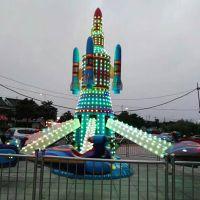 自控飞机 2017新款公园起浮升降自控飞机互动益智郑州宏德游乐定制