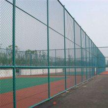 社区隔离栅 勾花护栏安装 球场围网