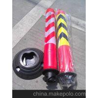 哈尔滨协瑞科技厂家常年批发不倒翁弹力柱警示桩防护桩警示柱隔离柱塑料防护柱