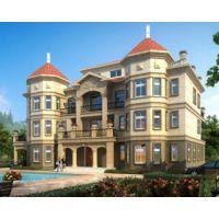 萍乡别墅设计AT1768四层高端大气复式楼大型别墅建筑设计全套施工图纸26.4mX15.5m