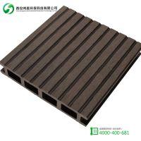 户外塑木空心地板 生态木地板 塑木复合材料 木塑地板可定制