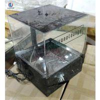 定制小型中型迷你水族用品亚克力鱼缸水族箱桌面乌龟盒水族槽金鱼亚克力盒子